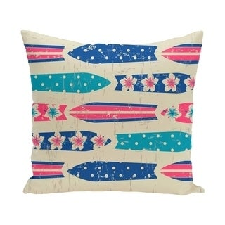 Jan Geometric Print 20-inch Outdoor Pillow