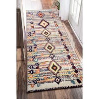 nuLOOM Moroccan Striped Diamonds Area Rug
