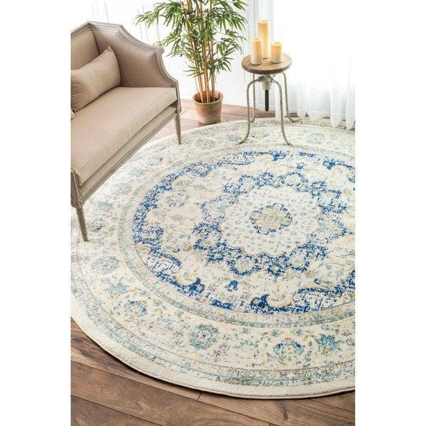 nuLOOM Traditional Persian Vintage Blue Round Rug 710  : nuLOOM Traditional Persian Vintage Blue Round Rug 710 Round a780c6d1 e96f 4153 9fc4 71f86eb43a4b600 from www.overstock.com size 600 x 600 jpeg 75kB