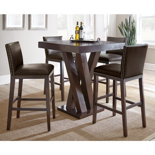 Shop Greyson Living Tisbury 5 Piece Bar Table Set Free