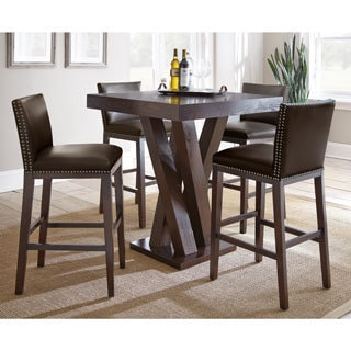 greyson living tisbury 5 piece bar table set - Kitchen Bar Table Set