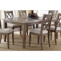 The Gray Barn Abernathy Marble Top 70-inch Dining Table