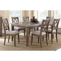 The Gray Barn Abernathy Marble Top Dining Set