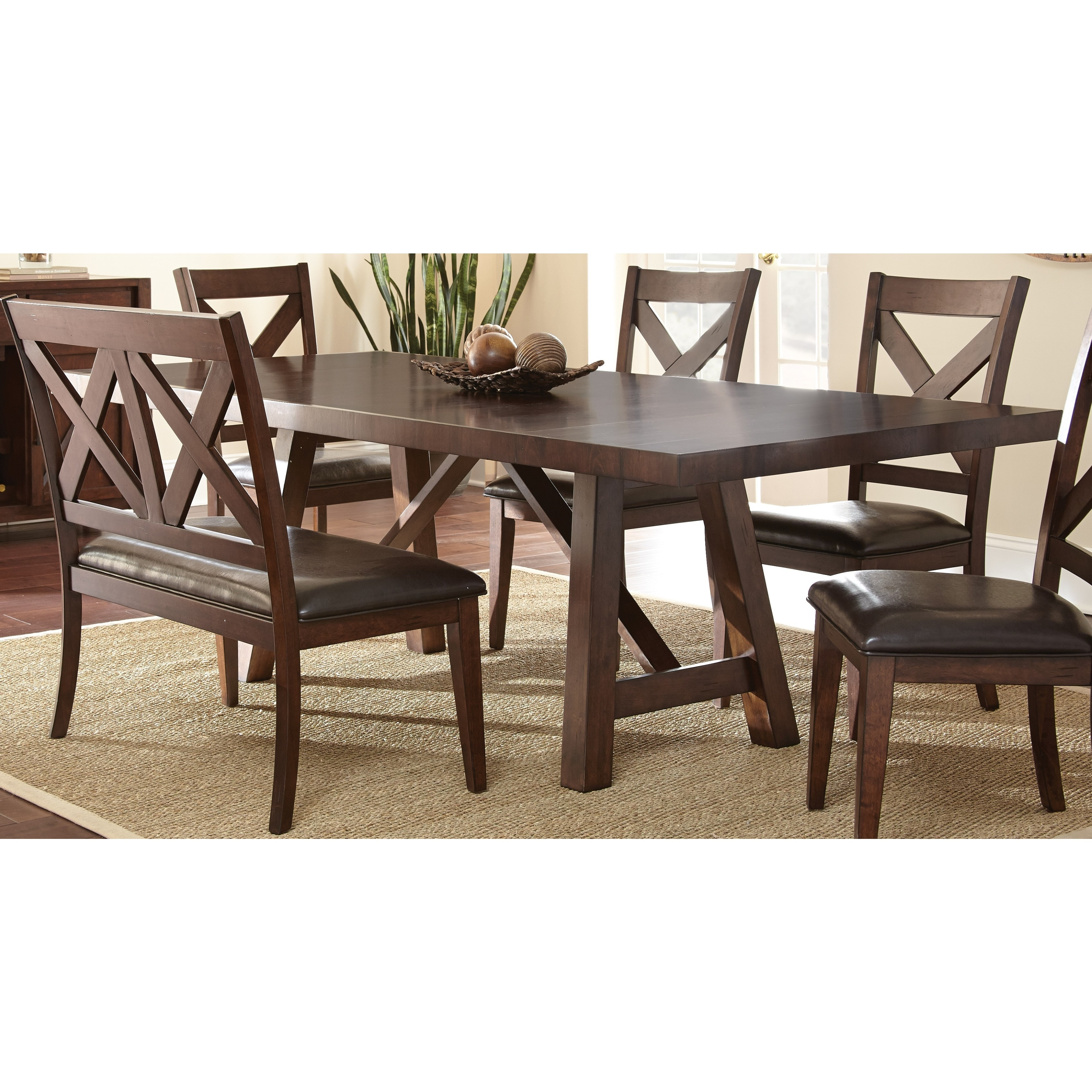 Greyson Living Chester 96 Inch Dining Table Espresso Overstock 10809415