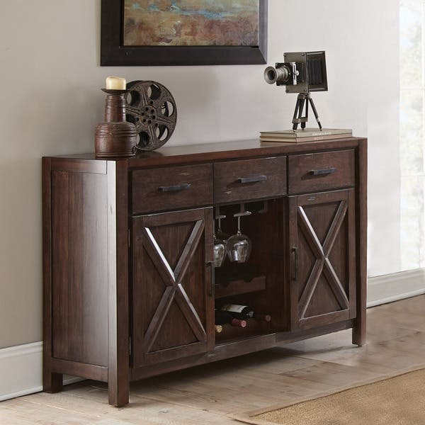 Shop Chester Server With Wine Storage By Greyson Living