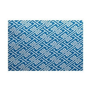 Leeward Key Geometric Print Rug (5' x 7')