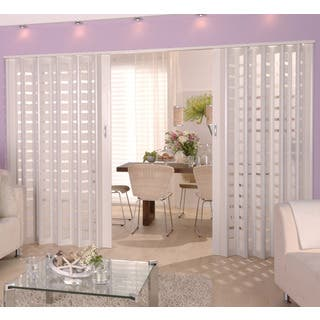 Homestyle Metro White with Frosted Squares Insert Folding Door https://ak1.ostkcdn.com/images/products/10809480/P17854878.jpg?impolicy=medium