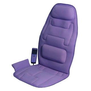 Comfort Products 10-Motor Massage Lavender Seat Cushion with Heat