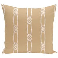 Tom Foolery Stripe Print 26-inch Pillow