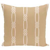 Tom Foolery Stripe Print 20-inch Pillow