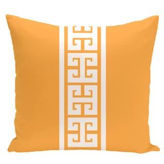 Key Stripe Stripe Print 20-inch Pillow