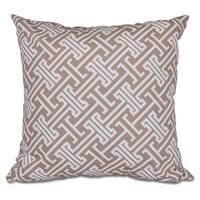 Leeward Key 20-inch Geometric Print Pillow