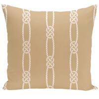Tom Foolery Stripe Print 18-inch Pillow