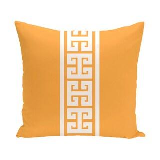 Key Stripe Stripe Print 16-inch Pillow