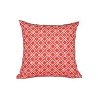 Rope Rigging Geometric Print 26-inch Pillow