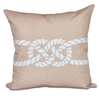 Carrick Bend 16-inch Geometric Print Pillow