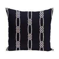 Tom Foolery 20-inch Stripe Print Outdoor Pillow