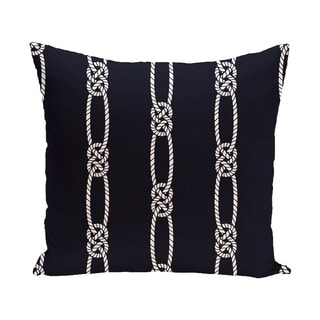 Tom Foolery 18-inch Stripe Print Outdoor Pillow