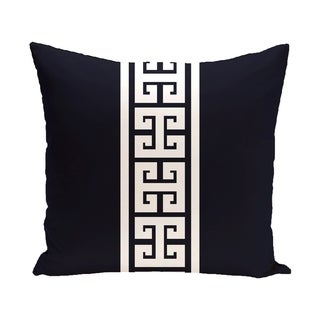 Key Stripe 18-inch Stripe Print Outdoor Pillow