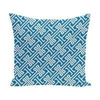 Leeward Key 18-inch Geometric Print Outdoor Pillow