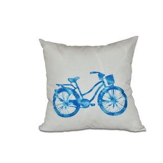 Life Cycle Geometric Print 26-inch Pillow