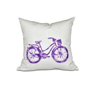 Life Cycle 18-inch Geometric Print Pillow