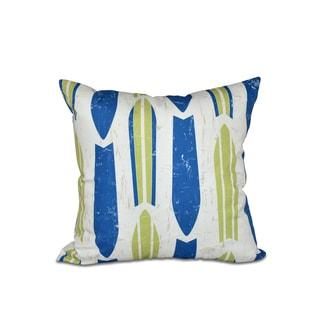 Dean Geometric Print 20-inch Pillow