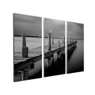 Moises Levy 'Time' Gallery Wrapped Canvas Wall Art