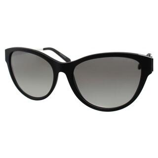 Michael Kors Womens Punte Arenas MK 6014 302211 Black Soft Touch Cat Eye Sunglasses