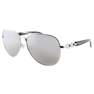 Michael Kors Womens Fiji MK 1003 10016G Silver Metal Aviator Sunglasses