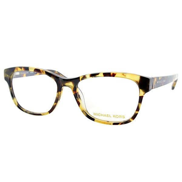 c56ec82776 Michael Kors Mens MK 829M 281 Tortoise Rectangle Plastic Eyeglasses-53mm