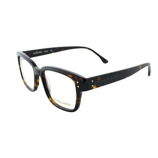 Michael Kors Womens MK 245 206 Tortoise Square Plastic Eyeglasses-52mm