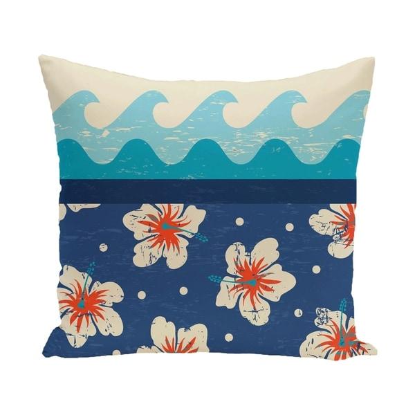 Hang Ten Floral Print 26-inch Pillow