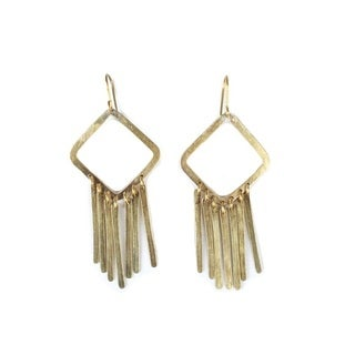 Brass Adia Earrings