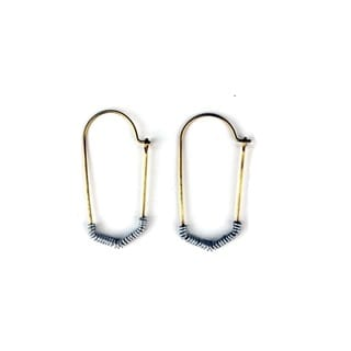 Brass Mombasa Earrings