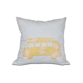 BeachDrive Geometric Print 16-inch Pillow