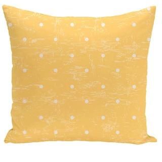 Dorothy Dot Geometric Print 18-inch Pillow
