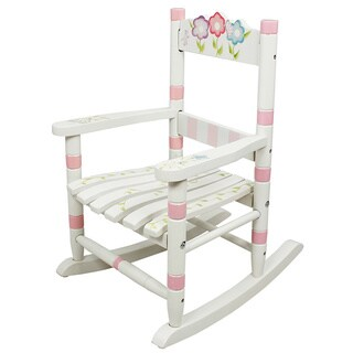 Fantasy Fields - Bouquet Small Rocking Chair, White