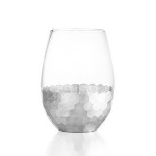 Ftiz and Floyd Daphne 4-piece 20-ounce Stemless Glass Set