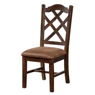 Sunny Designs Santa Fe Double Crossback Chair