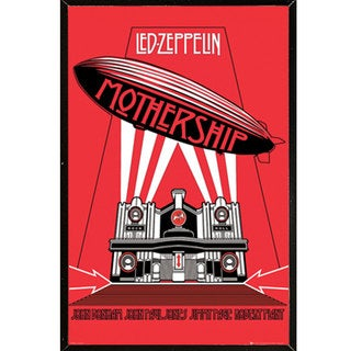 Led Zeppelin - Mothership Wall Plaque (24 x 36)