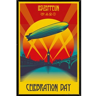 Led Zeppelin - Celebration Day Wall Plaque (24 x 36)