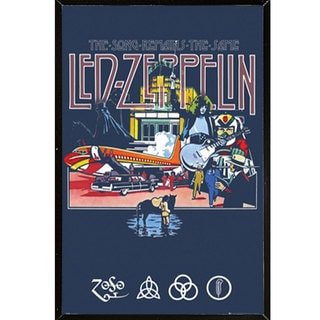 Led Zeppelin - Remains Wall Plaque (24 x 36)