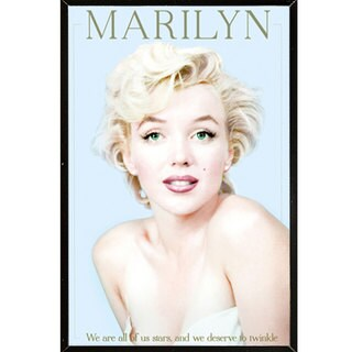 Marilyn Monroe - We Are All Stars Wall Plaque (24 x 36)