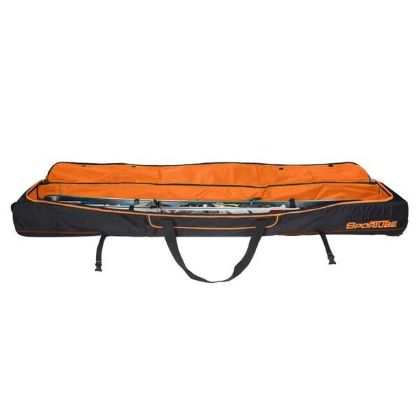Sportube Orange/ Black Ski Shield Double Ski Bag