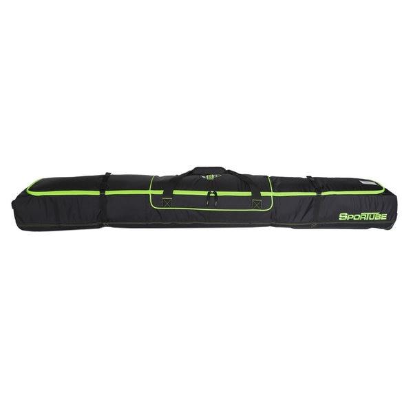 Sportube Green/ Black Ski Shield Double Ski Bag