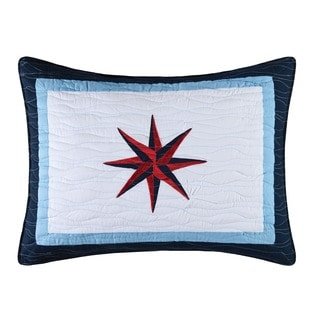 To the Sea' Nautical Standard Sham