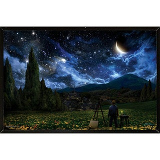 Starry Night Wall Plaque (24 x 36)