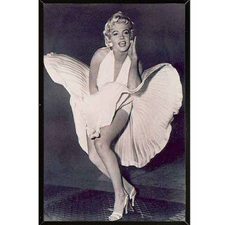 Marilyn Monroe - The Legend Wall Plaque (24 x 36) (3 options available)