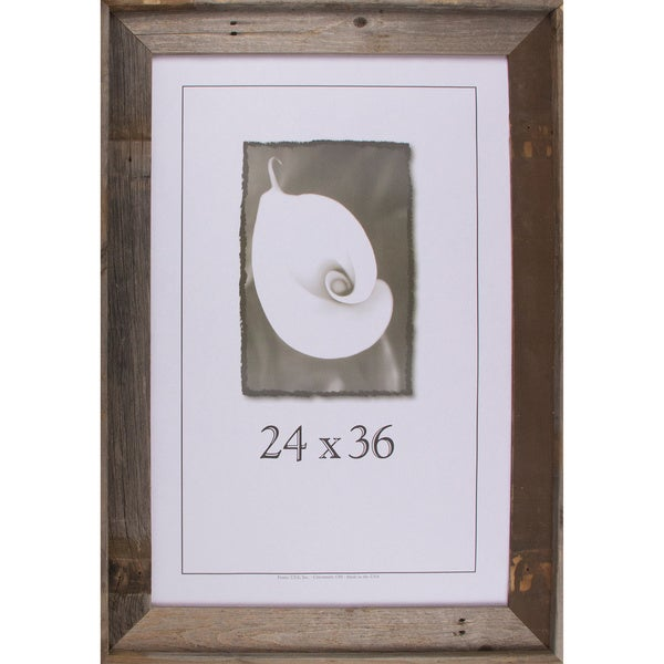 Shop Barnwood Signature Series Picture Frame 24 X 36